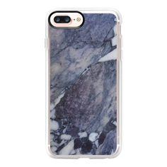 Purple marble - iPhone 7 Plus Case And Cover ($40) ❤ liked on Polyvore featuring accessories, tech accessories, iphone case, marble iphone case, apple iphone case, iphone cases, purple iphone case and clear iphone case
