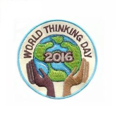 World Thinking Day 2016 Patch only $.69! Get them now on PatchFun.com
