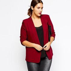 Blazer Women Plus Size Slim Black Red Autumn Blazers and Jackets Coat Solid Blazer Feminino Casual Blazer Business Suits 5xl 6xl