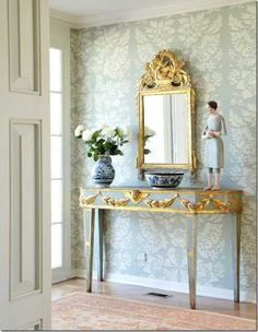 Carol Glasser foyer.  Susan's bathroom?