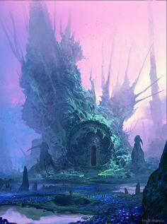 Blue Valley by Finnian Macmanus
