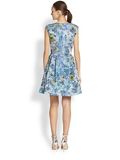 alt product image for Floral-Print Party Dress