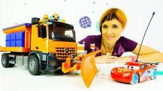 Видео для детей про машинки. Веселая Школа. Маша Капуки, Грузовичок Лева...