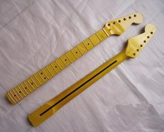Top quality 22 Fret Electric Guitar Neck Guitar Parts + Free gift strings Free Shipping