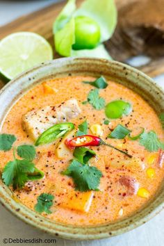 This recipe for Peruvian fish chowder has been in my family for over thirty-five years. It's one of our favourites, as it's vibrant and super tasty.