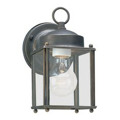 Sea Gull Lighting Products New Castle Outdoor Wall Light 8592-71