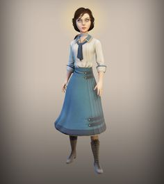 Elizabeth - The BioShock Wiki - BioShock, BioShock 2, BioShock Infinite, news, guides, and more, Elizabeth2.jpg