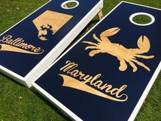 Baltimore Maryland Custom Cornhole Boards