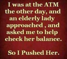 I laughed, forgive me!
