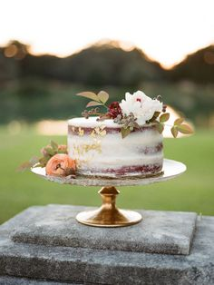 Wedding Cakes  :     Picture    Description  Naked wedding cake: www.stylemepretty… Photography: Davy Whitener – www.davywhitener….    - #Cake https://weddinglande.com/planning/cake/wedding-cakes-naked-wedding-cake-www-stylemepretty-photography-davy-whitener-www-davywh/