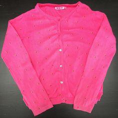 Gilet 8 ans fille rose avec étoiles dorées  de marque . Taille 8 ans à 1.00 € : http://www.vinted.fr/mode-enfants/gilets/44158234-gilet-8-ans-fille-rose-avec-etoiles-dorees.