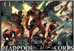 Wade Winston Wilson who also go with the name Deadpool is a fictional character appearing in comic books published by Marvel. A mercenary and anti-hero, Deadpoo Marvel Comics, Marvel Vs, Marvel Heroes, Marvel Characters, Book Characters, Deadpool Hero, Deadpool Fan Art, Deadpool Wolverine, Dead Pool