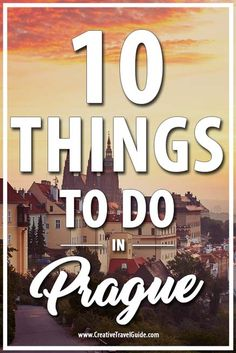 Prague is very affordable compared to many European countries, in spite of the rising popularity of the city. And it's full of history. Wanna go? Here are 10 things to do in Prague.