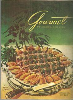 Gourmet Magazine September 1954
