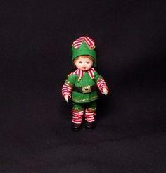 OOAK Miniature Handmade Sculpt Miniature Elf Boy Dolls house 1/12 scale. | eBay