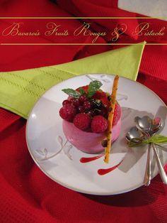 Bavarois Fruits Rouges & Mousseline Pistache