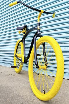 Villy Custom Cruiser Bike Design ~ Villy Custom-handcrafted frames not only painted to your individual aesthetic tastes, but also built with measurements spec'ed out solely to your body