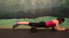 Foam rolling your quads