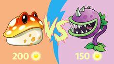 Plants vs Zombies 2 Hack: Toadstool vs Chomper