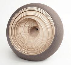 Matthew Chambers' abstract ceramic works. Stunning