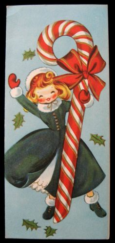 Vintage Greeting Card Christmas