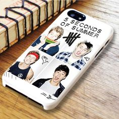 5 Seconds Of Summer Band iPhone SE Case