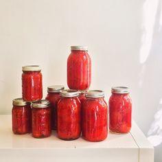 25lbs, #preserved. #pomodoripelati #tomatoes