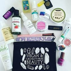 Each month, Vegan Cuts sends 4–7 full and sample-sized products from vegan and cruelty-free brands. Price: $19.95/month