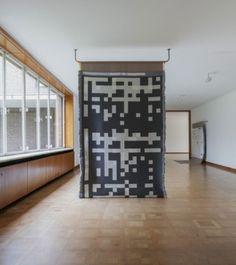 Data and jacquard weaving Rosella Biscotti Textielmuseum Tilburg Interior Decorating, Interior Design, Room Dividers, Jacquard Weave, Decorative Objects, Biscotti, Interior Inspiration, Rug, House Design