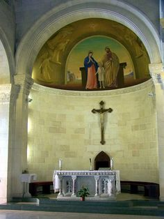 Inside the Church of the Annunciation, Nazareth, Israel | Flickr - Photo Sharing!