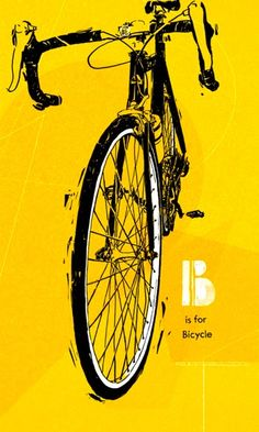 Velo Illustration 003: «B is for Bicycle» Jane Radstrom, 2012