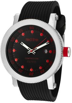 Price:$101.99 #watches Red Line 18000-01RD2, An aura of brilliance. This Red Line timepiece glows with its irradiant charm. Its smooth design will intensify anyone's personality.