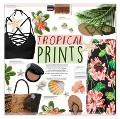 """Hot Tropics"" by suzanne228 ❤ liked on Polyvore featuring STELLA McCARTNEY, Billabong, Sensi Studio, NARS Cosmetics, Bobbi Brown Cosmetics, Nico, tropicalprints and hottropics"