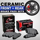 FRONT + REAR Ceramic Disc Brake Pad 2 Complete Sets Fits Nissan Altima 2002-2013