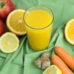 Citrus, Apple & Ginger Immunity Juice