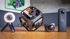 With a virtual reality camera, you can capture the whole world around you in a 360 degree videosphere. VR filmmaking is seeing
