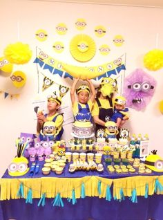 7 Best Movie Themed Kids Birthday Party Ideas In Singapore Minion