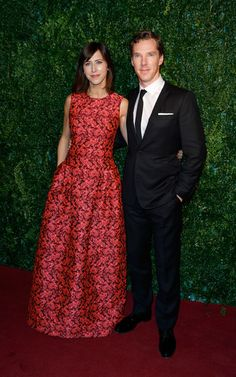 Sophie Hunter and Benedict Cumberbatch attend the 60th London Evening Standard Theatre Awards at London Palladium on November 30, 2014 in London, England.