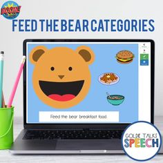 Categories Feed the Bear Activity Boom Cards Aba Therapy Activities, Speech Activities, Speech Therapy Activities, Speech Language Pathology, Language Activities, Speech And Language, Preschool Activities, Play Therapy, Learning Sites