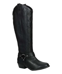 Take a look at this Breckelle's Black Dorado-17 Boot on zulily today!