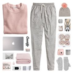 """~ 122215"" by khieug ❤ liked on Polyvore featuring Casetify, H&M, Korres, Laura Mercier, Essie, Frette, Karlsson, Samsung, Johnstons and Monki"