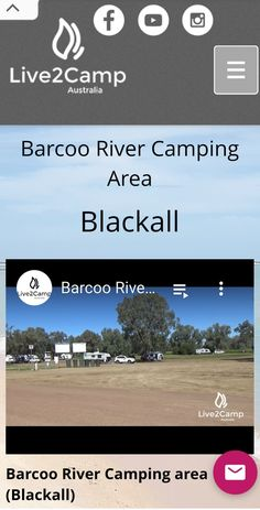 Camping Spots, Australia, River, Rivers