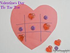 Valentine's day kids games - tic tac toe by FSPDT