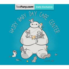 Shop Hairy Baby Day Care Center baymax t-shirts designed by LiRoVi as well as other baymax merchandise at TeePublic. Disney And Dreamworks, Disney Pixar, Funny Disney, Disney Bound, Musik Player, Big Hero 6 Baymax, Disney Art, Disney Stuff, Disney Magic