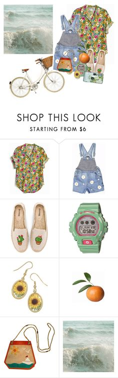 """after all you're my wonderwall"" by shiasunflower ❤ liked on Polyvore featuring Soludos, G-Shock, Bottega Veneta and WALL"