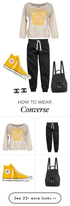 """""""Untitled #2891"""" by bbossboo on Polyvore featuring GURU, Converse and rag & bone"""