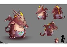 -Baby Dragon- Skywind Heroes - Pet and Monster Artwork. Challenge, Fight and Catch Them Some monster can be capture and some are not #SWH #Faveo #artwork #art #MMORPG #Freeonlinegame #onlinegame #Webgames