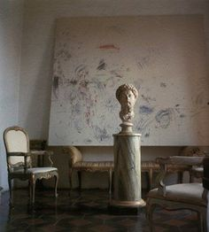 Cy Twombly's flat in Rome