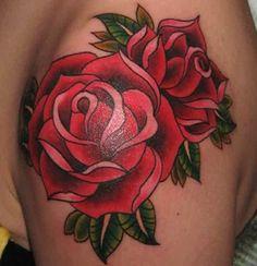 27 Wonderful Rose Tattoo Designs for Women   HelpTattoo.Com