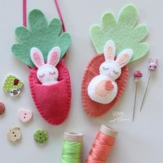 Ive got Easter on my mind! This is the perfect project for beginners! Find the Easter pattern in my store (link in bio) or ask for it at your favourite quilting store. Easter Crafts, Felt Crafts, Crafts For Kids, Diy Crafts, Bunny Crafts, Easter Tree Decorations, Easter Centerpiece, Easter Wreaths, Easter Decor